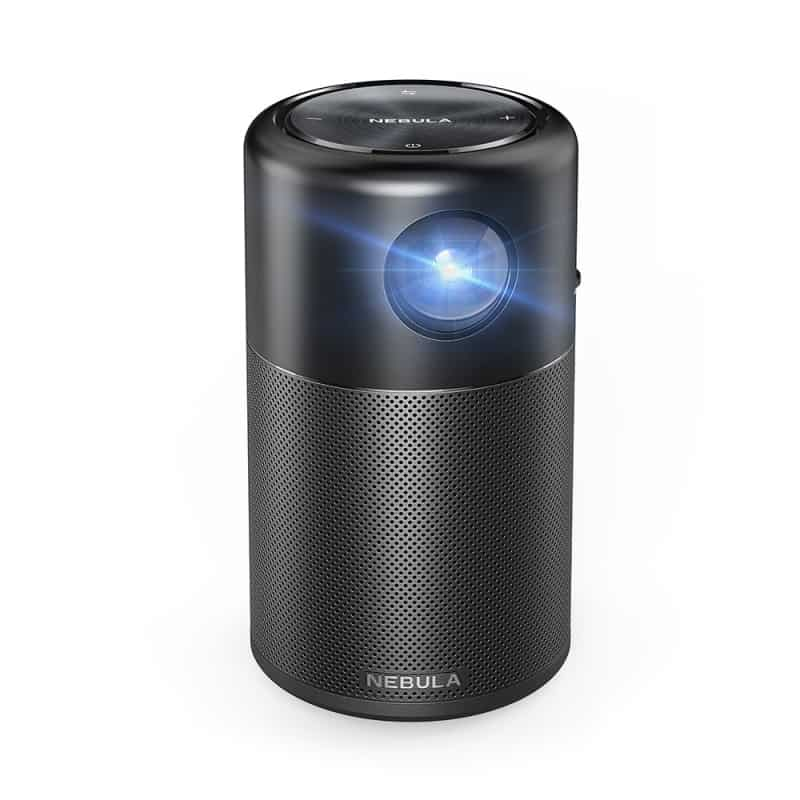Mini Portable Projector with Speaker