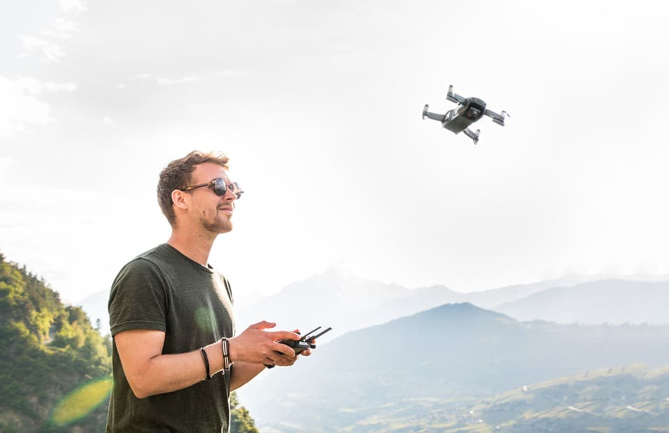 Drone Control: Accessibility Right At Your Fingertips